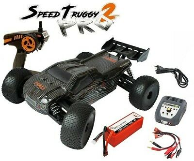 DF-Models SpeedTruggy PRO2 4WD Brushless 2.4GHz RTR 1:8 SPARSET 2