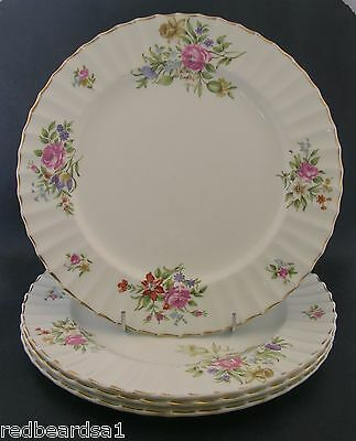 China Replacement  Royal Worcester Roanoke White Dinner Plate England 26cm