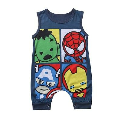 Cotton Newborn Toddler Baby Boy Girls Romper Jumpsuit Bodysuit Clothes Outfits