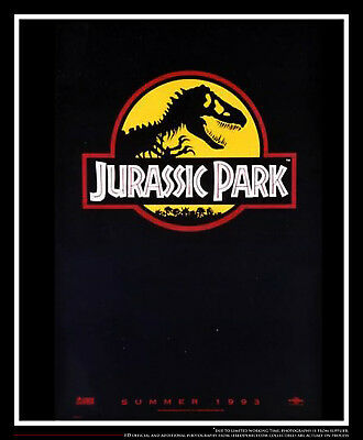 """JURASSIC PARK Style A 27"""" x 40"""" Rolled US One Sheet Movie Poster Original 1993"""