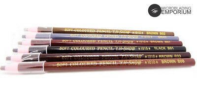 Creamy Waterproof Peel-off Pencil - Waterproof - 6 Colours FAST DISPATCH