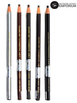 JAPANESE Microblading Eyebrow Peel-off Waterproof Marker Pencil SPMU (BROWN)
