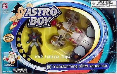 ~ Astro Boy - TRANSFORMING AKITA SQUAD CAR COLLECTORS TOY