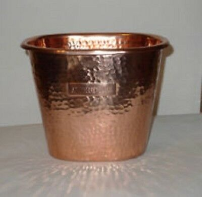 Rare Absolut Elyx Pure Copper Single Bottle Luxury Ice Bucket Free Shipping