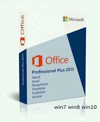 MS Office Professional Plus 2013 Full Version Lifetime Key 1PC INSTANT DELIVERY