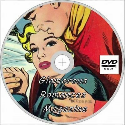 Glamorous Romances Magazine on dvd 36 Issues