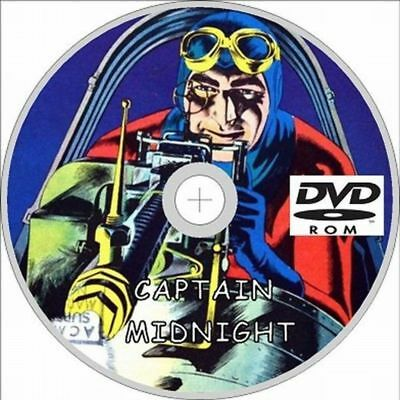 Captain Midnight Comic 60 Issues on DVD