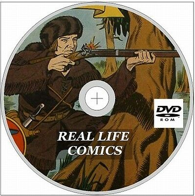 Real Life Comics Issues 1-59 Full Run On DVD Rom