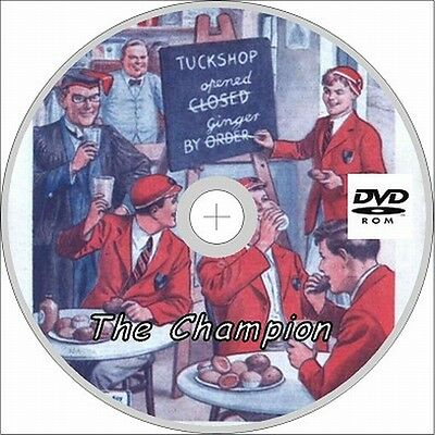 The Champion Comics 152 ASSORTED ISSUES on Dvd Rom