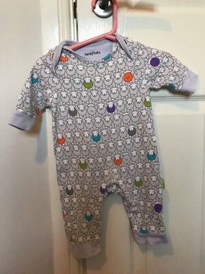 Herdy Baby Sheep Sleepsuit Age 0-3 Months