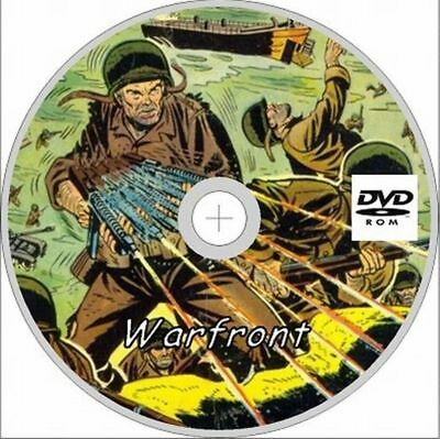 Warfront comics 34 issues on Dvd Rom