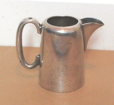Antique Walker & Hall Silver Plated Milk Jug   4 Inches Tall
