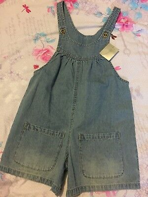 BNWT Girls Next Denim Playsuit 5-6 Years