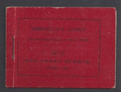 Australia 1917 King George V 1d Red 2/- Booklet (ACSC B12A)