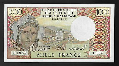 Djibouti 1000 Francs Banknote (1988) Uncirculated Condition Pic# 37b
