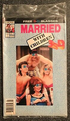 Married With Children 3-D Bagged With Glasses#1