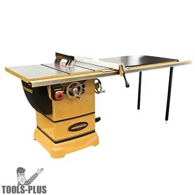 "Powermatic 1791001K Model PM1000 1-3/4HP 1PH Table Saw + 52"" Accu-Fence New"