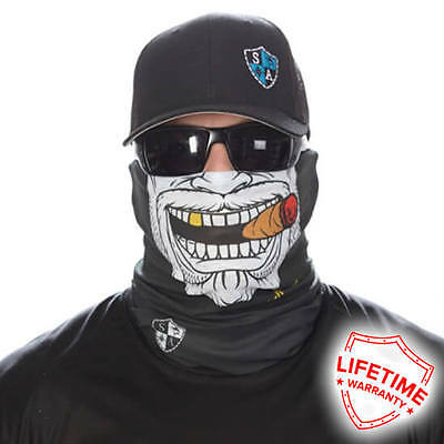 SA Face shield  GANGSTER  FACE MASK! FREE SHIPPING! 20 New Styles!