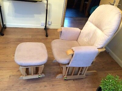 Tutti Bambini Nursing Gliding Chair with footstool