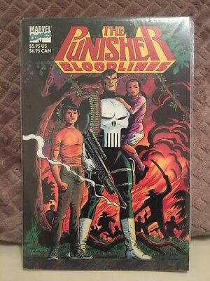 The Punisher - Bloodlines (One Shot TPB, 1991) Marvel Comics First Print