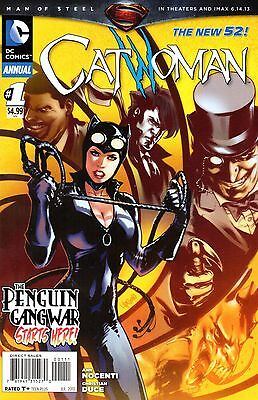 Catwoman Annual Comic 1 DC 2013 New 52 Nocenti Duce  Penguin Gang War