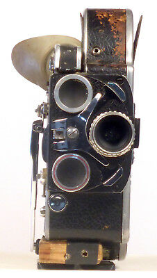 """ugly"" Fully Functioning Bolex H16 Reflex 16Mm Movie Camera"
