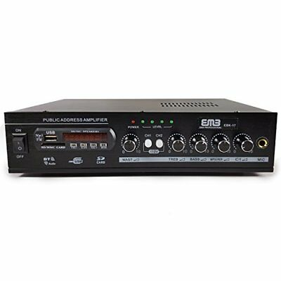 EMB EBK17 500W Stereo Amplifier with Remote