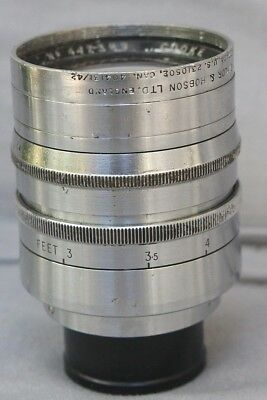 Taylor Hobson Cooke Ivotal 2 inch f/1.4 C-Mount lens for Digital or Movie Camera