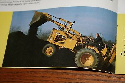 1964 Oliver Industrial Tractors and Equipment Advertising Sales Brochure Colorfu