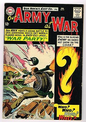 OUR ARMY AT WAR # 151   DC Comics 1965   1st ENEMY ACE!
