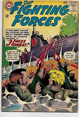 Our Fighting Forces #86, 1964 Silver Age VF 7.5-8.0 Subjective