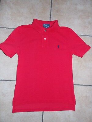 Boys Ralph Lauren Polo Top/T-Shirt Age 8 Years 100% Authentic in Ex Condition