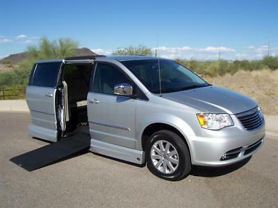 2011 Chrysler Town & Country Touring-L Wheelchair Handicap Mobility Van 2011 Chrysler Town & Country Touring L Wheelchair Handicap Mobility Luxury Van