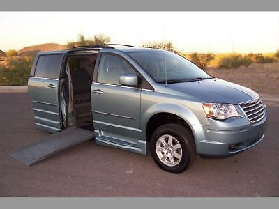2010 Chrysler Town & Country Touring Wheelchair Handicap Mobility Van 2010 Chrysler Town & Country Touring Wheelchair Handicap Wheelchair Best Buy