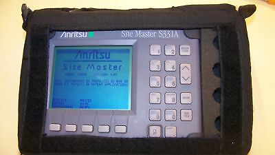 Nice Anritsu S331A Site Master + case, New Battery,Charger Fully Tested option 5