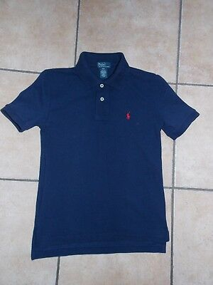 Boys Ralph Lauren Polo Top/T-shirt Age 8 Years 100% Authentic Excellent Cond