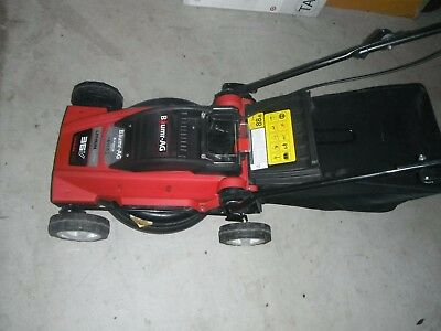 """New,cordless electric16"""" lawn mower & catcher, E Force360 Lithium Ultra Battery"""
