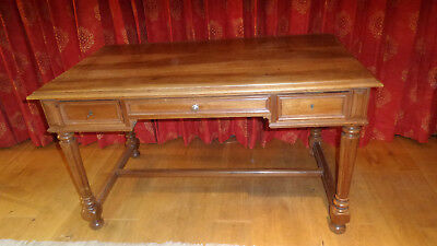 Antique French Fruit Wood Desk - Side Table - Dressing Table