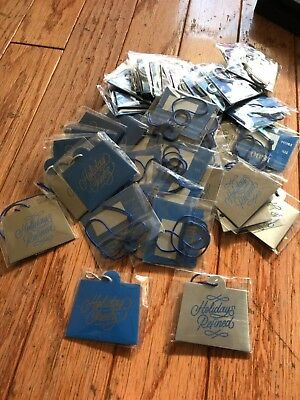 Huge Lot of (50) 1800 tequila metal gift tags wine tags holiday bag tags NEW