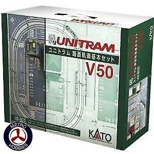 Kato N Unitram Basic Track Set KA40-800 Brand New