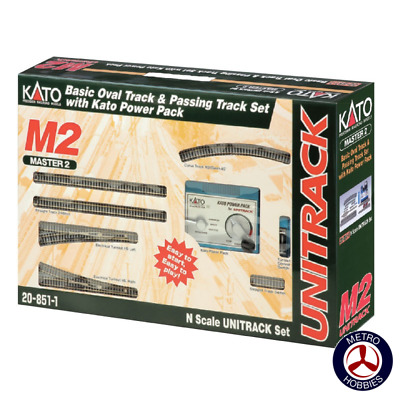 Kato N Unitrack Master Set M2 KA20-851-1A Brand New
