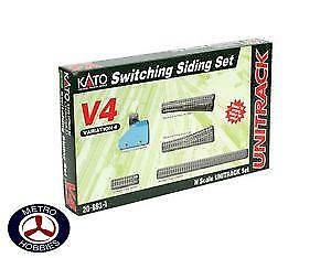 Kato N Untitrack Siding Set V4 KA20-863-1 Brand New