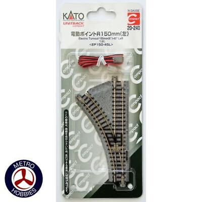 Kato HO Curved Track 730mm Radius 22.5 Degrees* KA2-240 Brand New