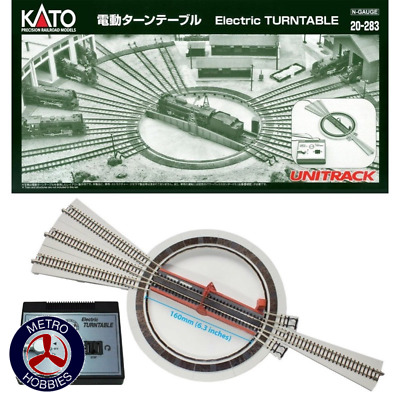Kato N Unitrack Turntable with Power Supply KA20-283 Brand New