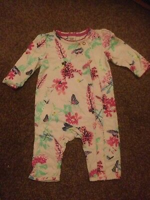 Ted Baker 0-3 Months Girls Baby Grow