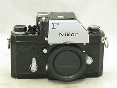 Nikon F Black Body Serial # 6951533 With Non-Working FTn Finder