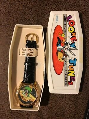 Looney Tunes 1994 Marvin The Martian Watch Vintage