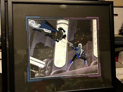 Batman Animated Warner Bros Limited Cel #ed Mr Freeze 1995 Heart Of Ice