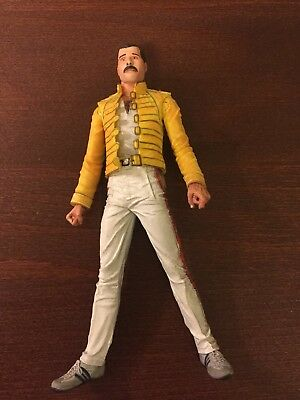 FREDDIE MERCURY  :  OFFICIAL NECA ACTION FIGURE / DOLL (2006) six inch figure