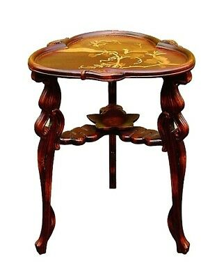 Galle design DRAGONFLY Marquetry TABLE